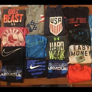 Other - Under Armour/Nike athletic shirts